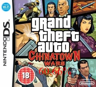 Thumbnail 1 for Grand theft Auto Chinatown Wars (E)[The Best Savegame] [60.66%] [v.1.3